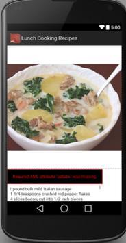 Lunch Recipes screenshot 1