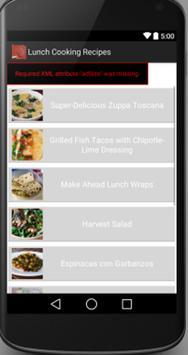 Lunch Recipes screenshot 2