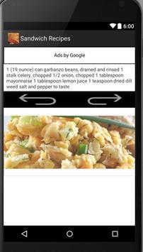 Sandwich Recipes apk screenshot