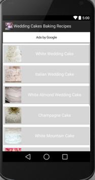 Wedding Cakes apk screenshot