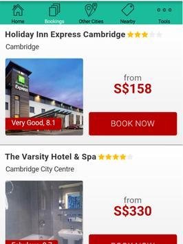 Cambridge Hotels apk screenshot
