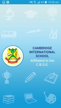 Cambridge International School, Talheri Buzurg poster