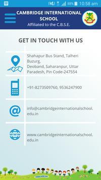 Cambridge International School, Talheri Buzurg screenshot 4