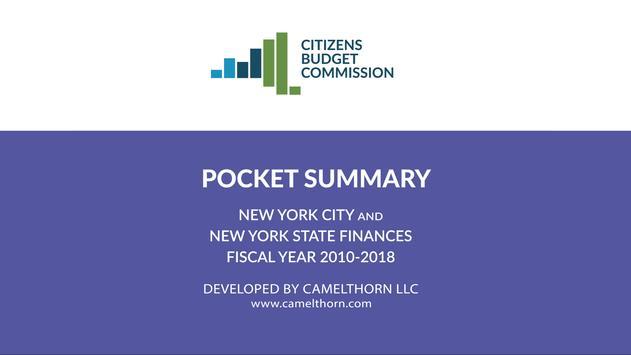 CBC Pocket Summary poster