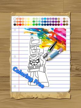 Paint Superheros for Kids apk screenshot