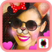 Doggy Face Camera-Funny Cute Doge Style Stickers icon
