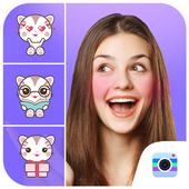 Kitty Photo Editor-Kitty stickers for photo icon