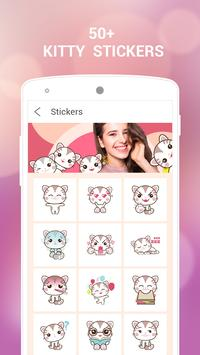 Kitty Photo Editor-Kitty stickers for photo screenshot 1