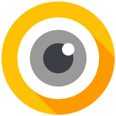 O Camera for Android™ O Oreo™, HD camera icon
