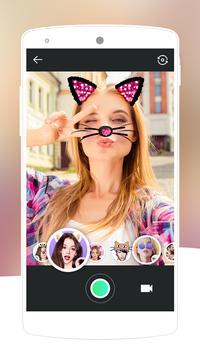 Face Swap Camera-lovely&makeup cute motion sticker apk screenshot