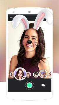 Face Swap Camera-lovely&makeup cute motion sticker poster