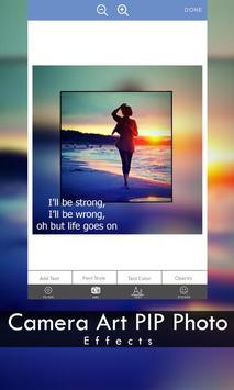 Camera Art PIP Photo Effects screenshot 12