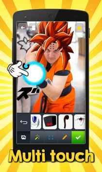 Super Saiyan DBZ Photo apk screenshot