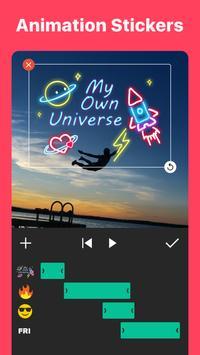 Видео редактор  и фото Музыка скриншот приложения