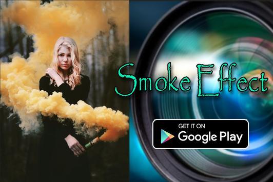 Camera Smoke 360 Art Effect poster