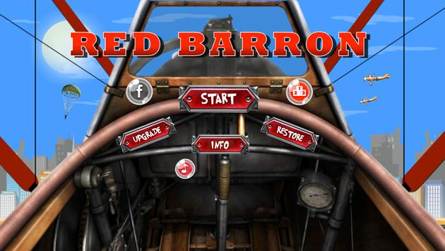 Red Barron poster