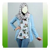 Jeans Hijab Photo Editor icon