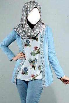 Jeans Hijab Photo Editor poster
