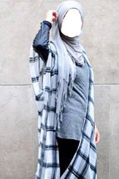 Jeans Hijab Photo Editor apk screenshot