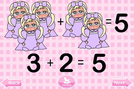 Cami Kids Math Numbers apk screenshot