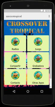 Radio Musica Tropical Crossover Free poster