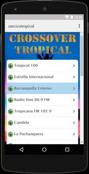Radio Musica Tropical Crossover Free screenshot 2