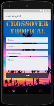Radio Musica Tropical Crossover Free screenshot 4
