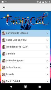 Radio Musica Tropical Crossover Free screenshot 6