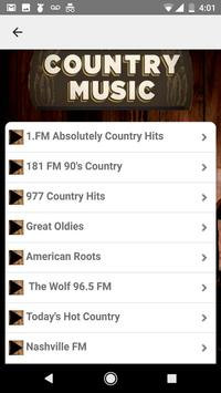 Country Music Musica Country Gratis screenshot 4
