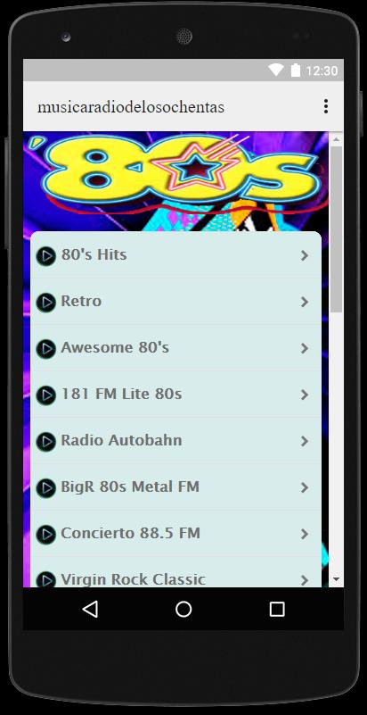 Music 60 70 80 Disco Rock and Roll Free for Android - APK
