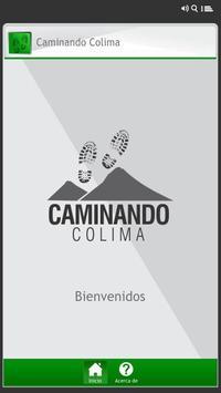 Caminando Colima poster