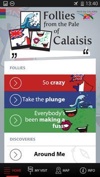 Follies around Calais poster