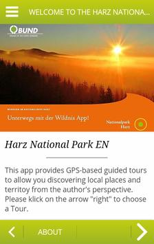 Harz National Park EN poster