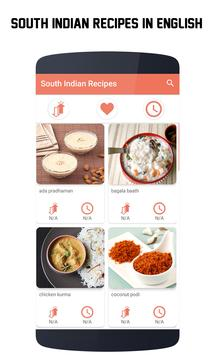 400+ South Indian Recipes in English poster