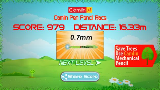 Camlin Pen Pencil Race apk screenshot