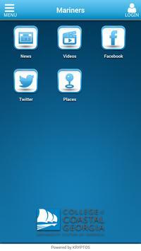 Mariners app screenshot 1