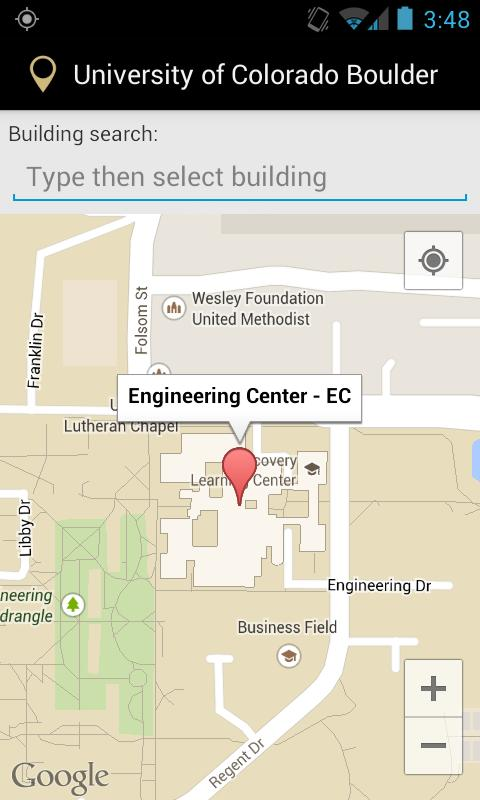 Campus Map For Cu Boulder For Android Apk Download