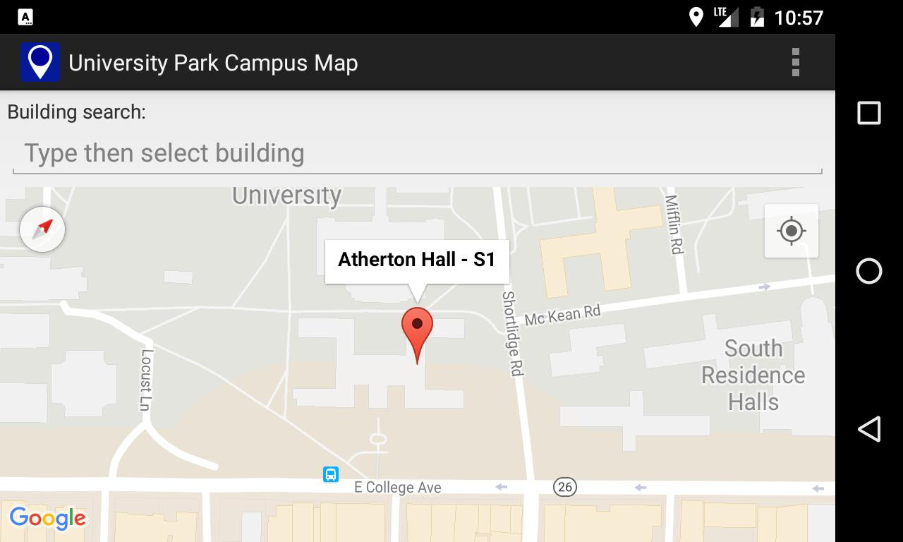 Campus Map for Penn State for Android - APK Download