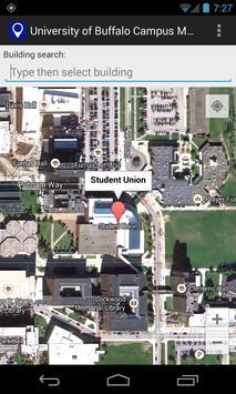 Map for University at Buffalo apk screenshot