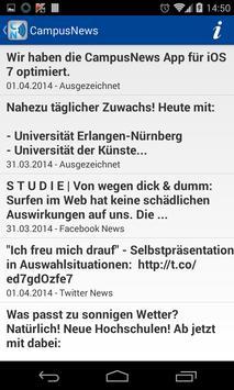 CampusNews apk screenshot