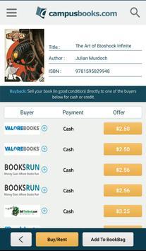 CampusBooks screenshot 2