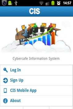Cybercafe Information System poster