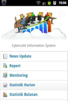Cybercafe Information System apk screenshot