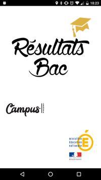 Résultat Bac 2018 poster