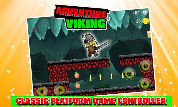 VIKING Adventure Run Game poster