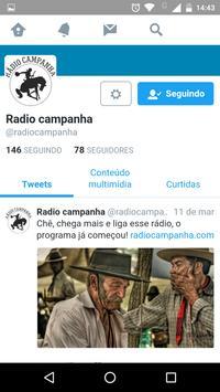 Rádio Campanha 2.4 screenshot 3