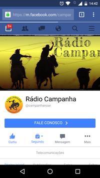Rádio Campanha 2.4 screenshot 2