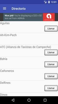 Taxi Campeche screenshot 2