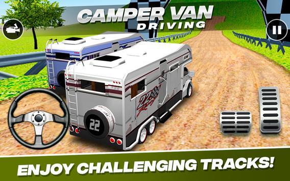 Camper Van  Driving imagem de tela 5