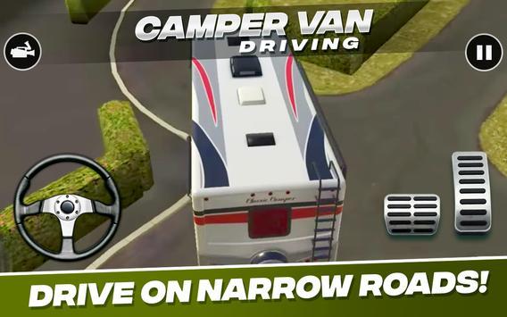 Camper Van  Driving imagem de tela 6